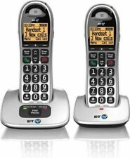 BT BT4000 Big Button Cordless with Nuisance Call Blocker Pack of 2 - (069265)