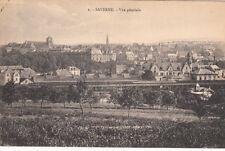 SAVERNE 2 vue générale timbrée 1925