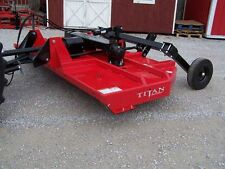 New Titan 10 ft. HD Brush Hog (pull type)-- **Made in USA Can ship @ $1.85 mile.
