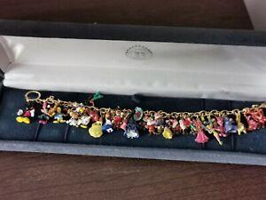 Gold Plated Disney Character Bracelet