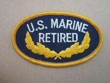 US Marine Retired USMC Military Cloth Patch Badge