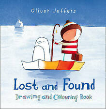 Lost and Found Drawing and Colouring Book (Lost & Found Film Tie in), Oliver Jef