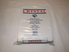1000 Clear Polythene Plastic Bags 200 x 250mm