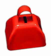 "3"" Metal Cowbell (1 dozen) - Red Free Shipping"
