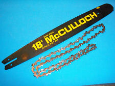 """NEW MCCULLOCH 18"""" MINI PRO CHAINSAW BAR & CHAIN 219276 650-375 OEM FREE SHIPPING"""