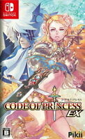 Code of Princess EX Nintendo Switch Japanese Tracking NEW
