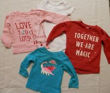 Toddler Girl's Clothing Lot (4 pieces) 18 month - Bodysuit, Shirts