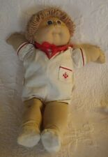 """Vintage 1985 Cabbage Patch Kid Doll W/Sailer Outfit Plush Stuffed Animal 16"""""""