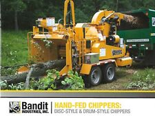 Equipment Brochure Bandit Hand Fed Disc Drum Chippers 2016 E6592
