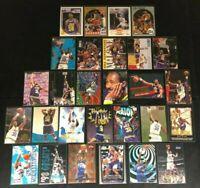 Karl Malone-Utah Jazz- 28 Cards -1989-1998 Skybox/Hoops/Fleer/Topps/Upper Deck