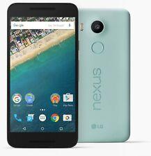 Nexus 5X H791 Ice teléfono inteligente azul para piezas