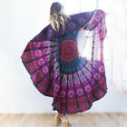 NEW Bohemian Hippie Mandala Wall Hanging Tapestries Beach Mat Blanket Bedspread