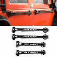 For Traxxas TRX-4 Land Rover Defender D90 D110 1/10 RC Car Metal Door Handles