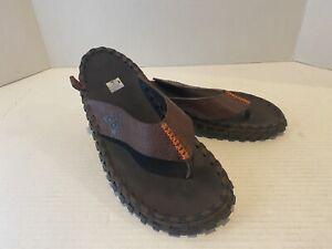 Nike Men's Sidewinder 2 Thong Baroque Brown Flip Flop Sandals SUPER CLEAN 7 Men