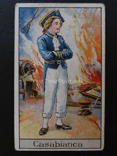 No.20 LOUIS DE CASABLANCA - Famous Boys by Godfrey Phillips 1924