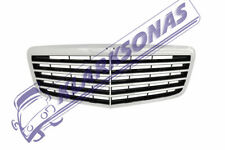 MERCEDES E 211 2006 - 2009 NEW FRONT GRILL GRILLE GRILLS CHROME/BLACK 2118801783