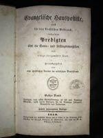 Evangelische Hauspostille, 1856, altes antikes Buch