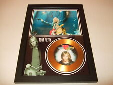 TOM PETTY   SIGNED  GOLD DISC
