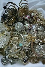 1.1kgs Job Lot Bundle Costume Jewellery Sparkly Gold Silver Tone Curios Y471 J6