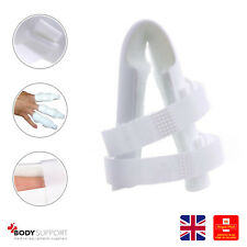 Finger Splint Injury Protector Support Brace Joint Protection Plastic All Size