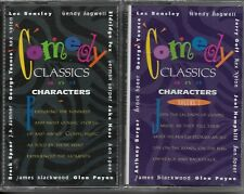 """""""COMEDY, CLASSICS & CHARACTERS""""...""""VOL. ONE"""" & """"VOL. TWO""""....BRAND NEW CASSETTES"""