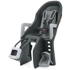 Polisport Kindersitz Guppy Maxi+ FF Befestig. Ramenrohr dunkelgrau silber