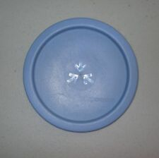 """TUPPERWARE REPLACEMENT LID / SEAL #2423 """"A"""" ONE TOUCH CANISTER ~ LIGHT BLUE"""