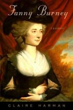 Fanny Burney: A Biography Harman, Claire Hardcover