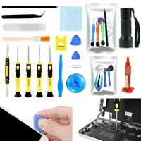 Repair Opening Pry Tools Screwdriver Glue Kit Set for Cell Phone iPhone Samsung