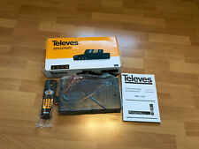 Televes RSD-7118 DVB-S digitaler Sat-Receiver FTA 2x Scart, EPG, RS232