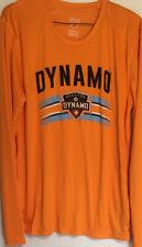 Houston Dynamo Long Sleeve Shirt Size XL