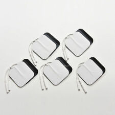 20 Replacement Pads for Massagers/Tens Units Electrode Pads White Cloth 5x5cm CC