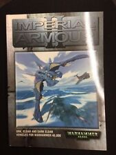 Warhammer 40K Imperial Armour 2 (2001) OOP Games Workshop GW