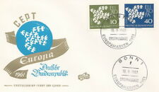 Germany postmark FDC Bonn Europa 1961 CEPT