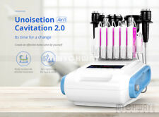 6in1 Ultrasonic Cavitation Liposuction Machine Radio Frequency RF Laser Slimming
