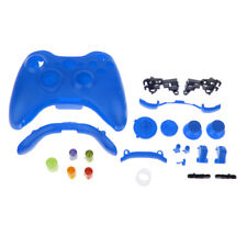 Wireless Controller Shell Parts Full Button Housing Case for XBox 360 Blue