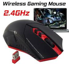 Genuine et X-08 Profesional 2000DPI 2.4G Wireless Gaming Ratón Ratones F PC Laptop