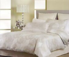 Georges Fine Linens-IONA SILVER - Queen Quilt Cover Set  1 QC & 2 PC