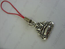 Pendagli in argento tibetano per borsa e cellulare di bigiotteria