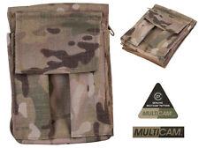 Army Military Note Pad Book Holder Waterproof Multicam A6 Binder Nirex Orders