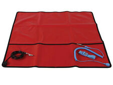 """Velleman AS9 Anti-Static Field Service Kit - Red / 24"""" x 24"""" NEW!!!"""