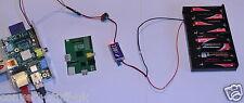 Hobbywing 3a 5 voltios Ubec & 12v 8xaa Pack. potencia a Raspberry Pi De Baterías