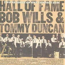 Hall Of Fame, Duncan, Tommy, Bob Will & Texas , New Original recording reissued,