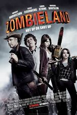 Zombieland movie poster - Emma Stone poster, Woody Harrelson : 11 x 17 inches