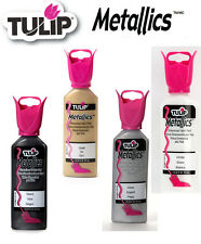 Tulip Metallics 3D dimensional fabric paint 37ml - * same p+p any quantity