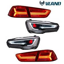 LED Headlights 2017 Evil Eye & Tail Lights For 2008-2017Mitsubishi Lancer EVO X