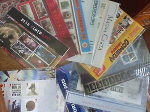 Mint Royal Mail Stamp Presentation Packs 2010 - 2017