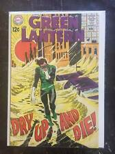 Green Lantern #65, Vol. 2, Silver-Age Comic Book,  VF/VF+, DC, 1968
