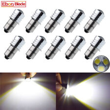 10X P13.5S Led Flashlight Replacement Bulb Emergency Work Light Cold White 6V AC