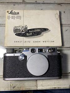 Leitz Leica IIIf Camera Body Red Dial